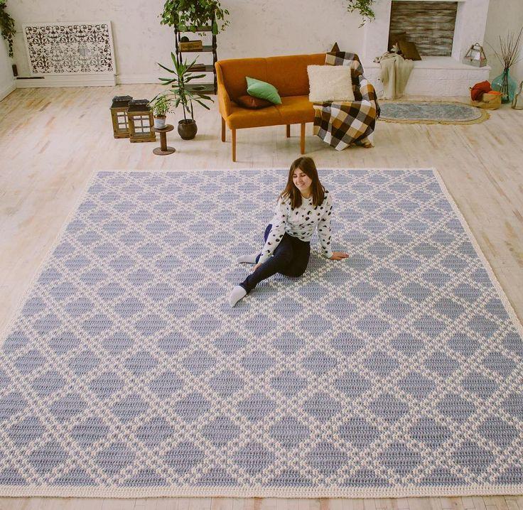 Современные и стильные ковры ручной работы  @kronastore