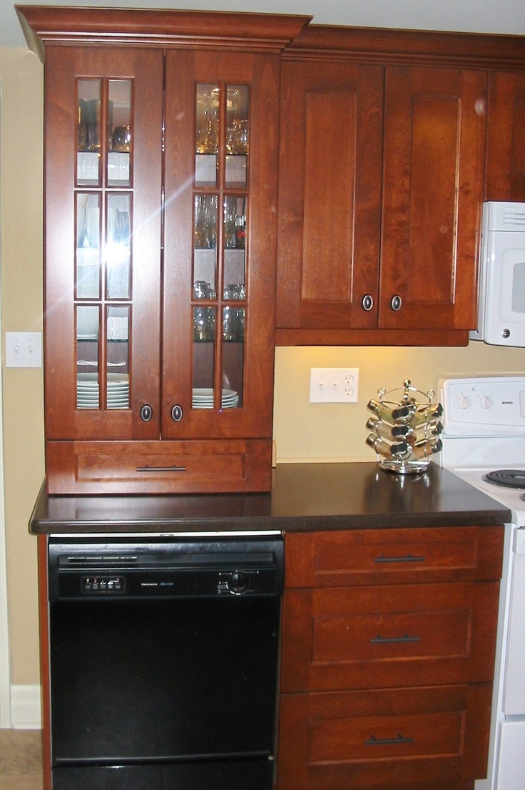 Custom Kitchen Built In China Cabinet