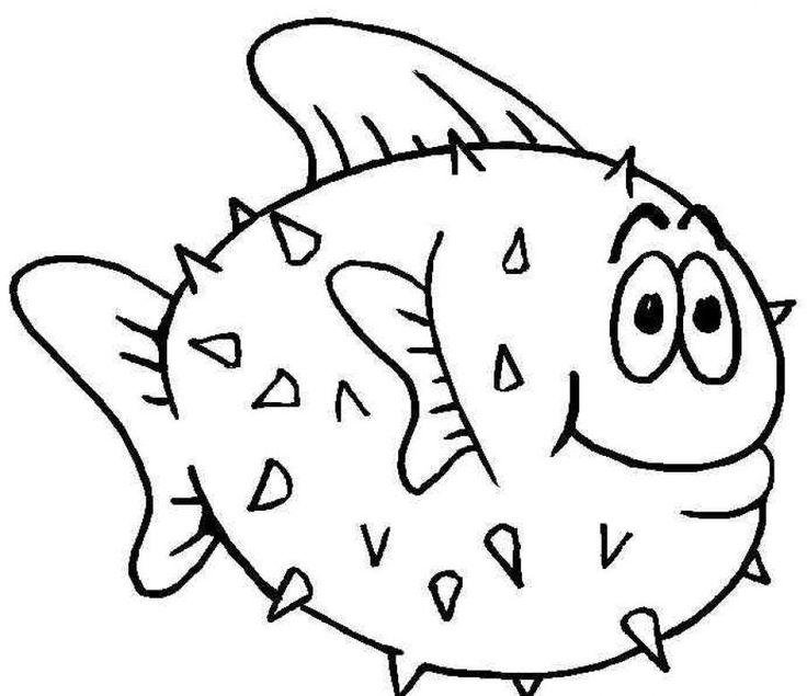 19 besten Malvorlagen Fische Bilder auf Pinterest   Malvorlage fisch ...