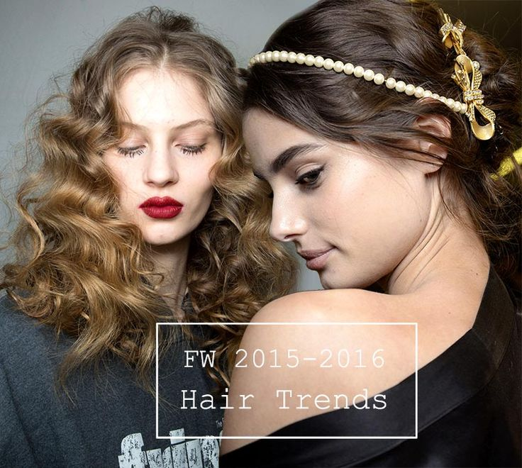 Fall/ Winter 2015-2016 Hairstyle Trends  #hair #hairstyles