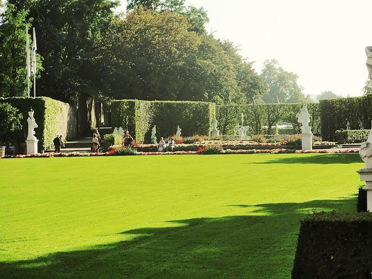 anderswohin Trier Stadtfuehrung - Garten am Kurfürstlichen Schloss