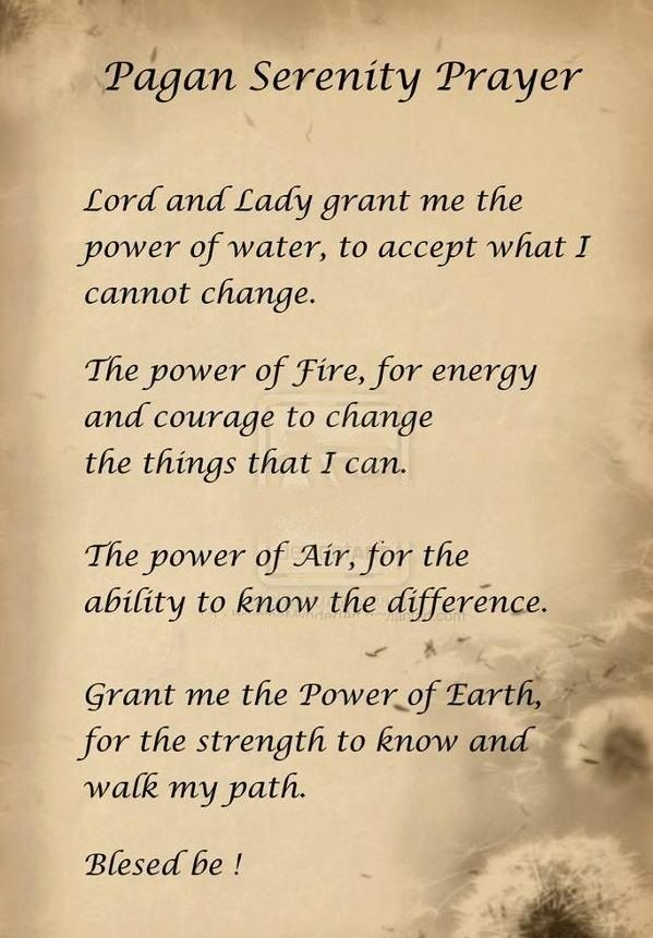 Nordic Wiccan: Prayer