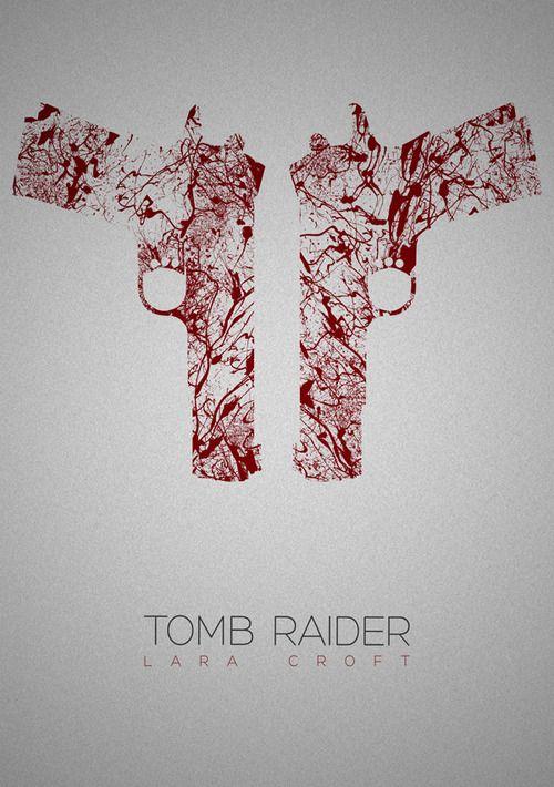 tomb raider by Rizwanb Super Hero shirts, Gadgets