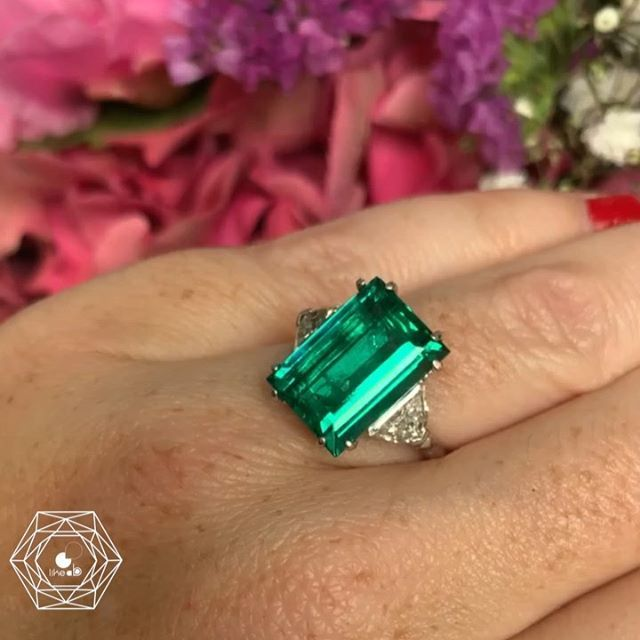 Elegant Women/'s Wedding Set Anneaux Argent 925 Ovale Cut Emerald Ring Taille 6-10
