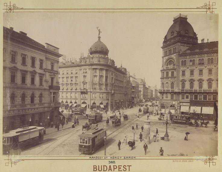 Blaha Lujza tér 1900