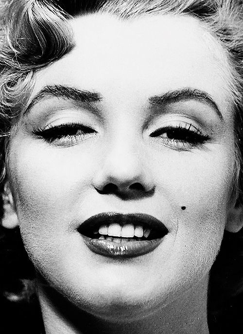 Marilyn Monroe photographed by Philippe Halsman.