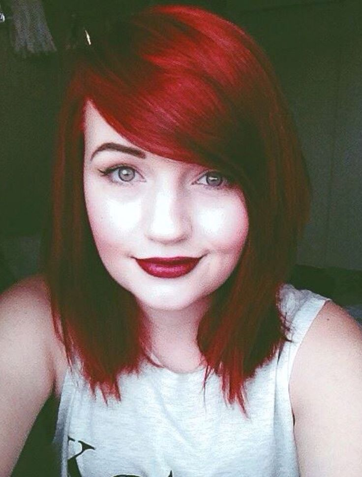 @joyfaithlove (Instagram) looks absolutely gorgeous in Manic Panic's Vampire Red!