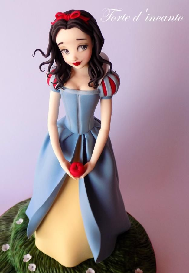 www.cakecoachonline.com - sharing....Snow White - Cake by Torte d'incanto