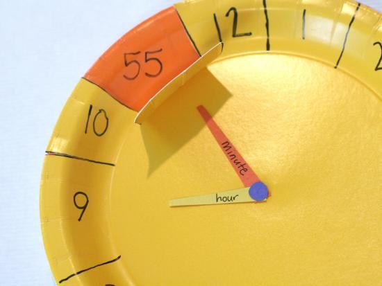 "{Not Your Average Paper Clock craft} ""Lets face it: Learning how to tell time is tough."