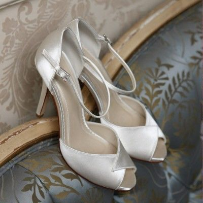 Diane Hassall Pearl Drift Wedding Shoes