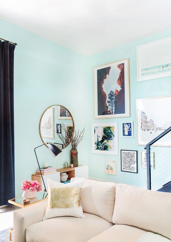 A Beachside Living Room Makeover Get The Look