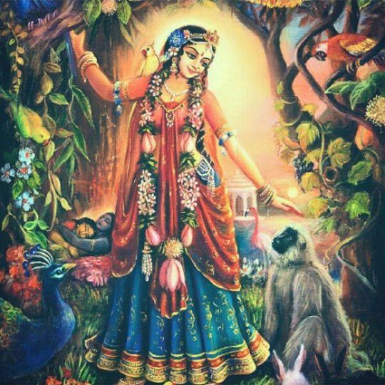 Instagram #Krishna #Radharani #Hinduism