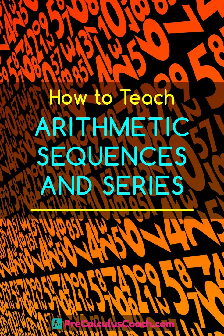 How to Teach Arithmetic Sequences and Series - PreCalculus Worksheets, Guided Notes, Exit Quiz, PowerPoint and much more!