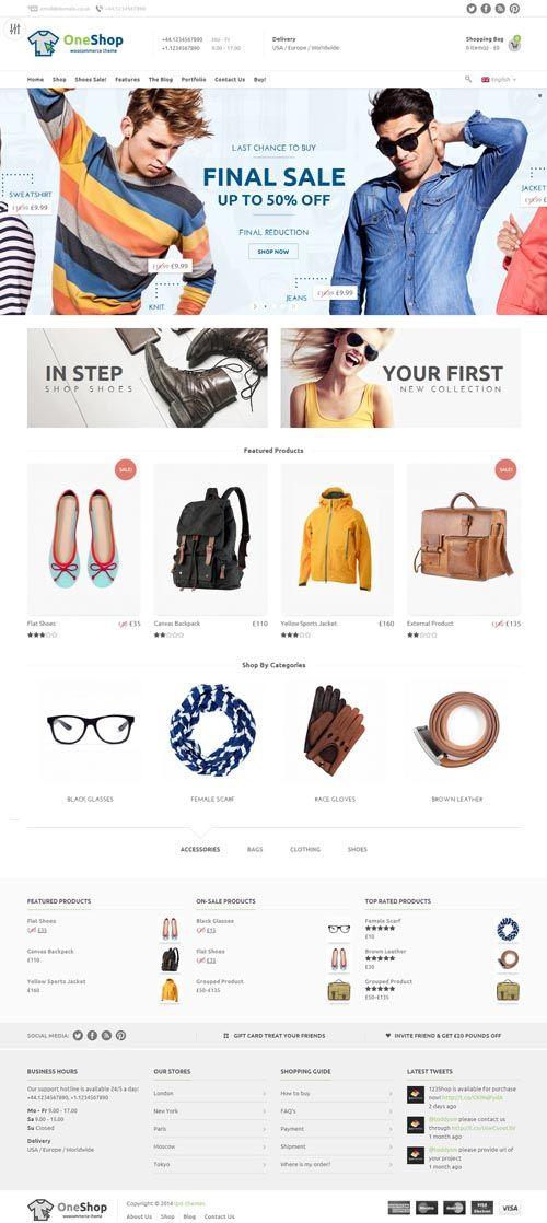 123Shop eCommerce WordPress Theme #responsivewordpressthemes #html5css3 #responsivedesign