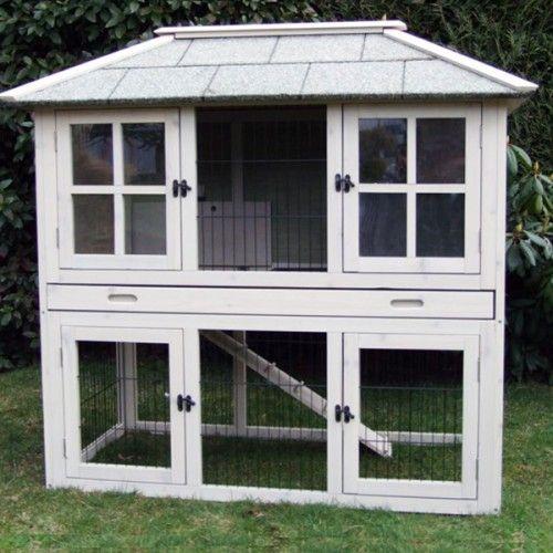 Konijnenhok Juliette | Konijnenhokken | Uw konijnenhok specialist Cute rabbit hutch