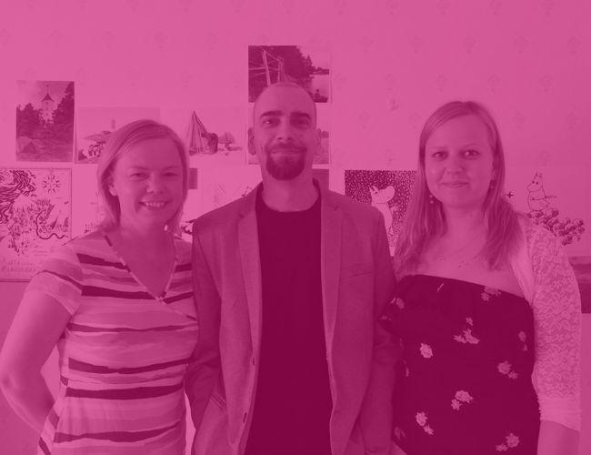 """Janne Ekman, producent, Posintra Ab: """"Someco bidrog till Kustnätprojektet genom att hålla en inspirerande utbildning för de deltagande företagen. Tack vare Somecos yrkesskicklighet var projektet lyckat."""""""