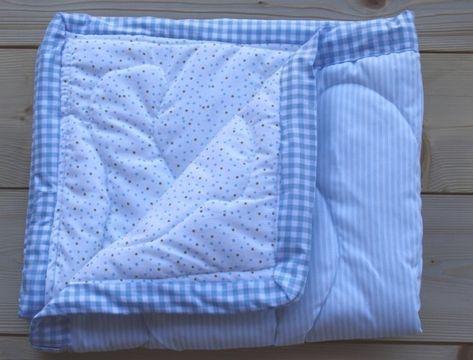 copertine fai da te per neonati | Come fare una copertina per neonato | UnaDonna
