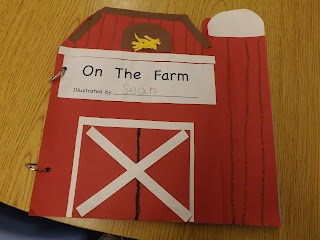 This is a great visual to teach children what kinds of animals live on farms. This could be turned into a book and each page could represent a different type of animal.