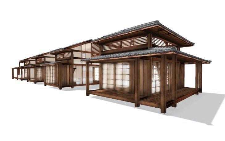 Japanese Bungalow Bessou Brazil Construction Japanese Buildings Tea House Bungalow Design