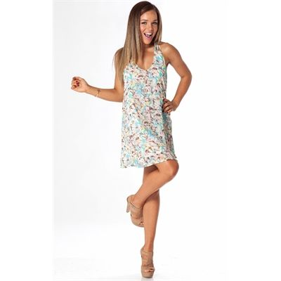 Florentine Mint Blue Floral Dress From Showpo