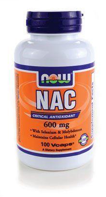 best supplements nac 600 mg NOW Foods Nac-Acetyl Cysteine 600mg, 100