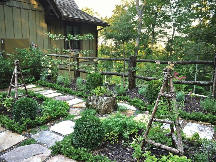Awe Inspiring Rustic Garden Photos Hgtv Wooden Kitchen Herb Garden The  Source Of Great Designed Home   A Little Great
