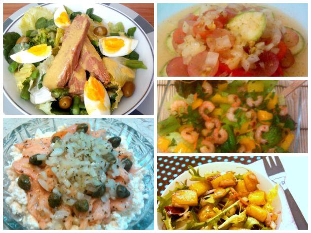 60 sugestões de saladas e molhos saborosos para overão