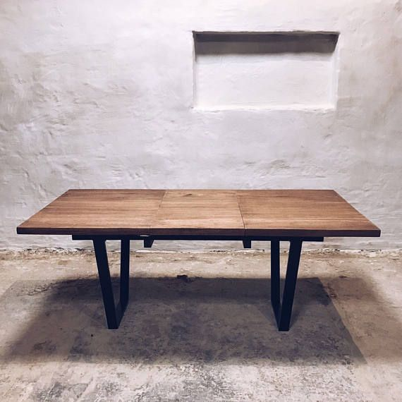 X Industriel Table A Manger Extensible Table A Manger Extensible