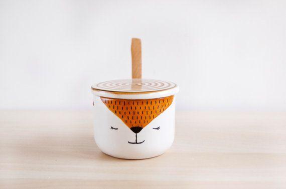 Zorrete Sugar Bowl // Noe Marin 33.50€ on Etsy  #ceramics #etsy #sugarbowls