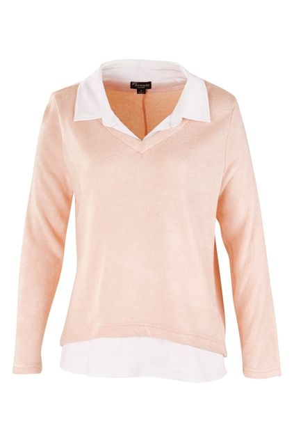 Threadz clothing Two In One Shirt Jumper - Womens Jumpers - Birdsnest Online…