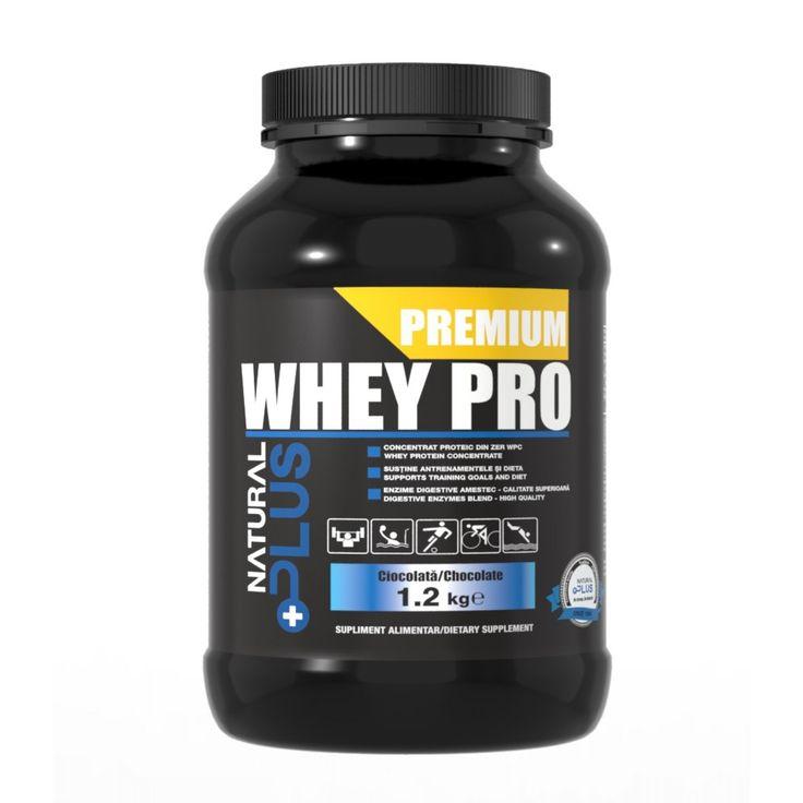 Proteine PREMIUM WHEY PRO, aromă ciocolată