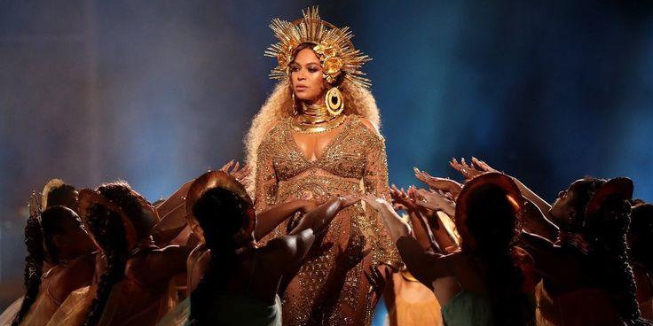 (VIDEO) La increíble presentación de Beyoncé embarazada en los Grammy