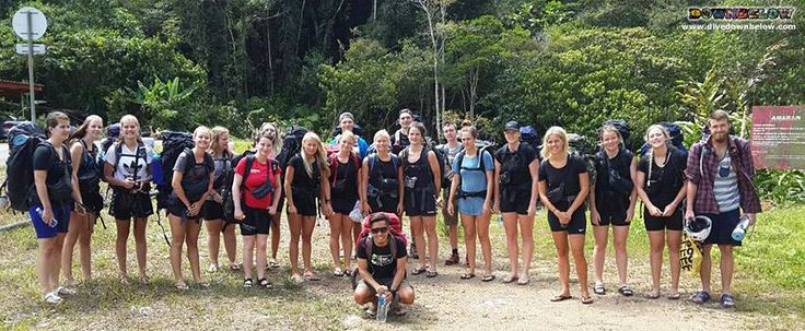 Pablo is as ready as the group to start the epic 4 days and 3 nights of jungle trekking along the Salt Trails!