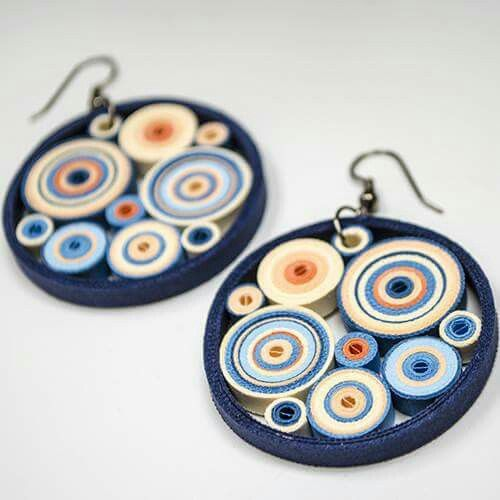 17 Best images about Paper Quilling Jewelry on Pinterest Paper jewelry, Quilling and Paper ...
