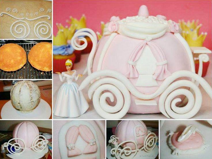 Cinderella Coach Cake!