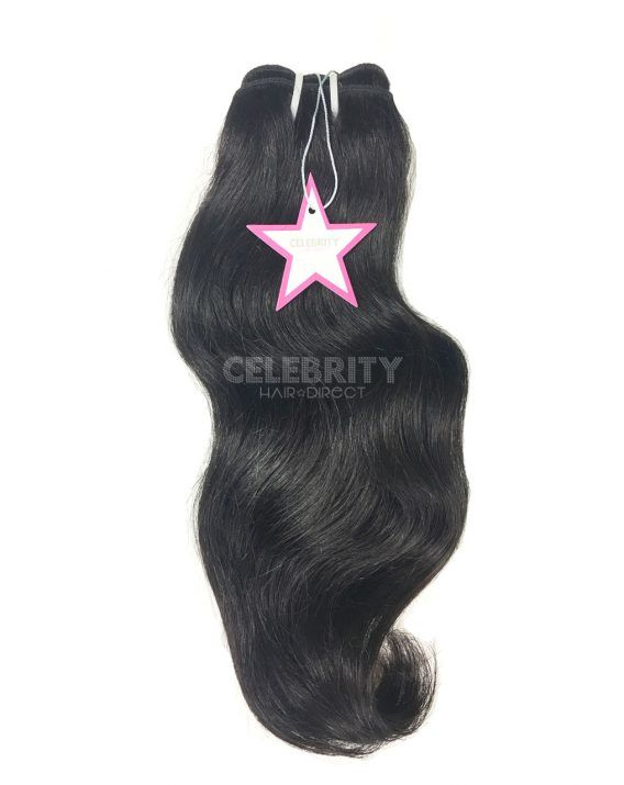 100% Raw Indian Temple Straight Hair Extensions from Celebrity Hair Direct's A-List Collection
