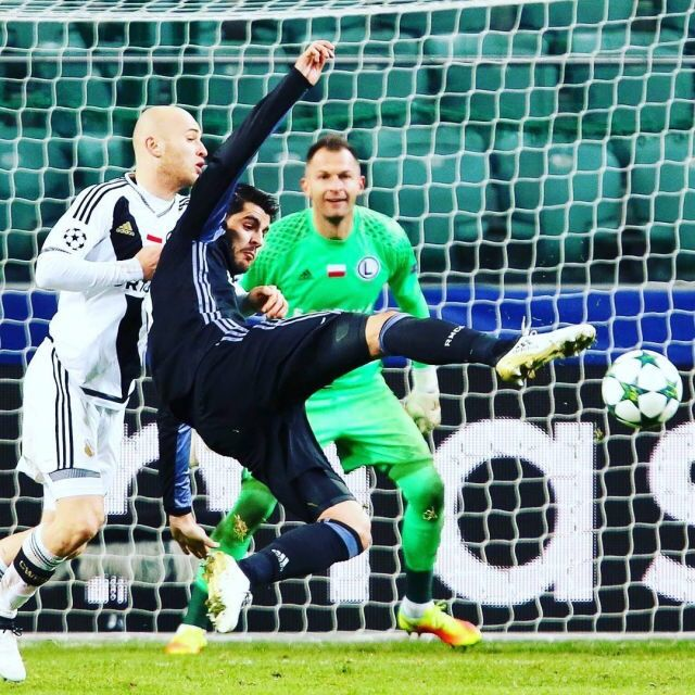 Real Madrid-Legia Warsaw. 2.11.2016.