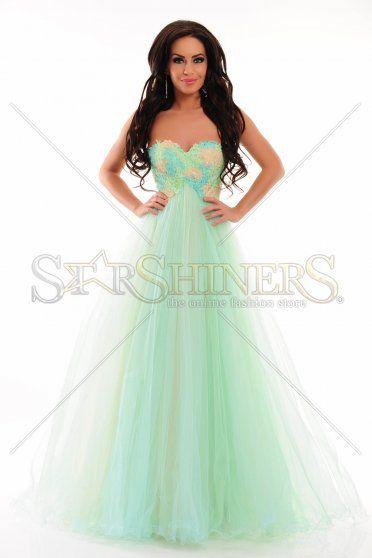 Sherri Hill 21314 Green Dress