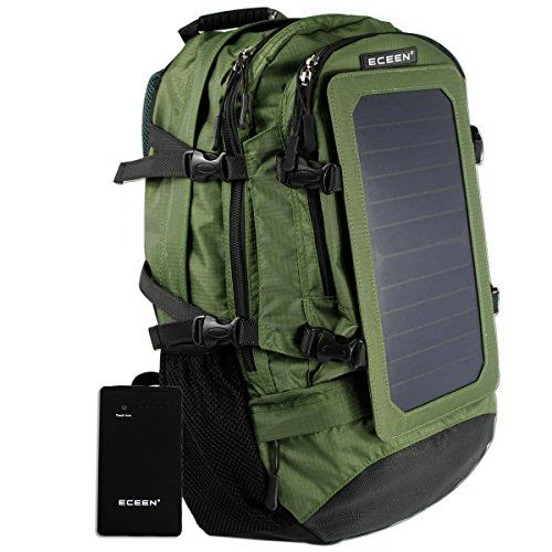 ECEEN Share the Sun!   ECEEN - our focus is on providing sun power for everyone   Why ECEEN® Solar Backpack?   ECEEN® Solar Backpack captures more sunlight than conventional solar panels which mea...