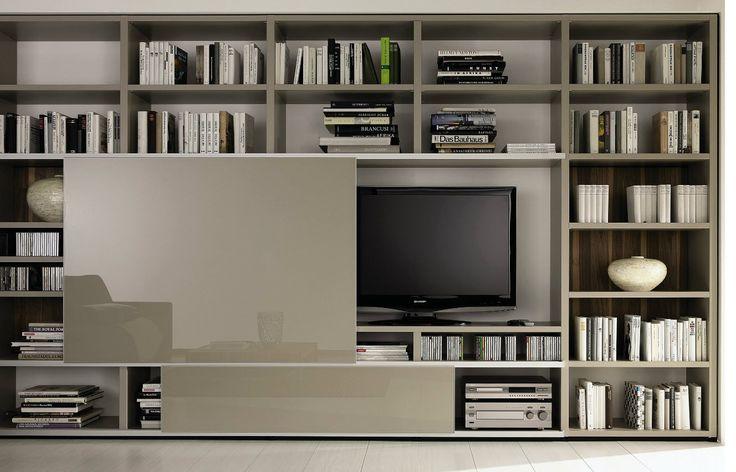 biblioteca Tv  Muebles para Tv  Pinterest  Decorative Wall Panels