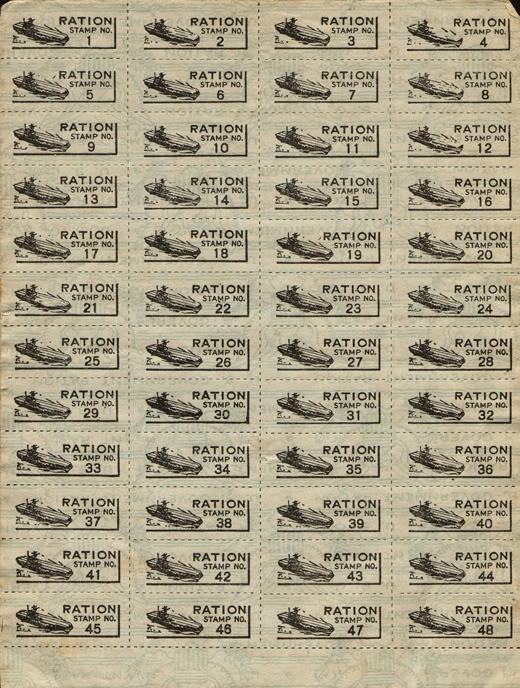WWII USA Ration Stamp