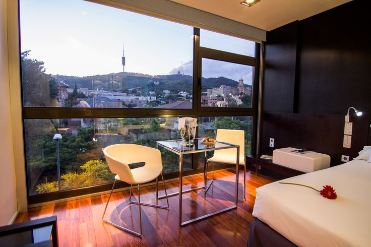 Eurostars Anglí, Barcelona #eurostarshotels #hotels #barcelona .Beyond the concepts of design and innovation, the 4 stars hotel Barcelona Eurostars Anglí is characterized by its exclusive tranquillity. Located in the highest part of the Sarriá district, a particularly peaceful area on the slopes of the Tibidabo mountain