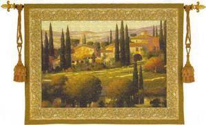 Гобелен Картина Тосканский декор  133x100