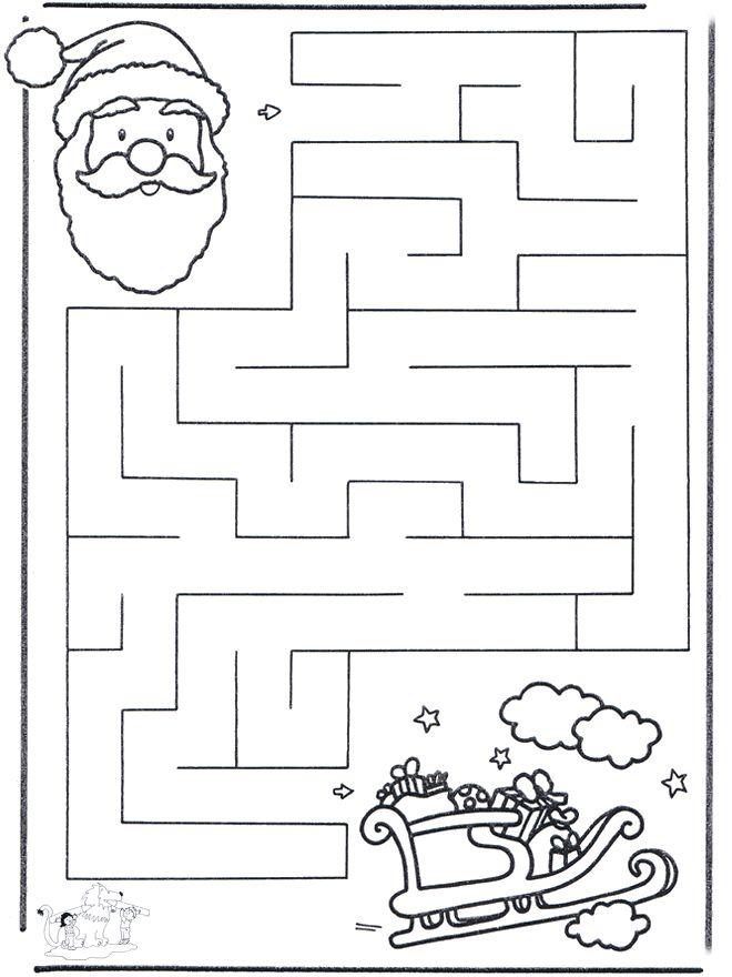 Labirinto de Natal 2 - Ofícios de Natal