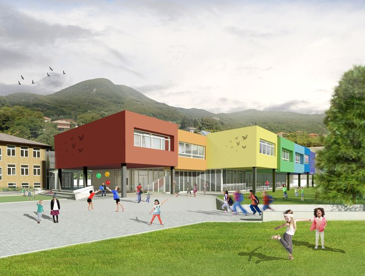 Design for a school in Pont Canavese