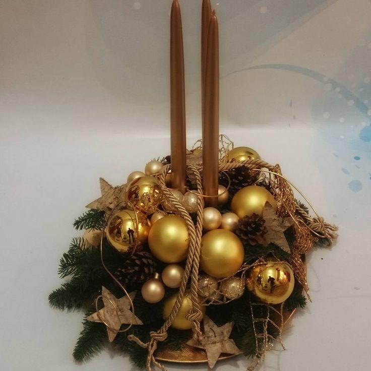 Dekoracja świąteczna kwiaciarnia wena czestochowa