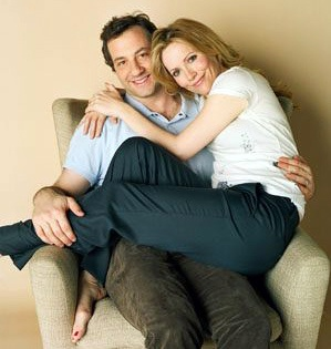 Lesley Mann & Judd Apatow