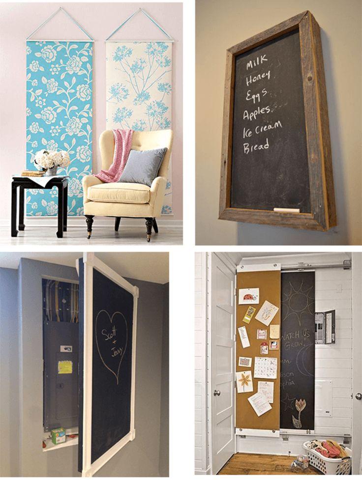 Les 25 meilleures id es de la cat gorie compteur for Decoration cacher une porte