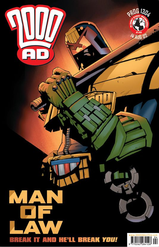 The art of Judge Dredd: 20 killer 2000 AD covers | Creative Bloq