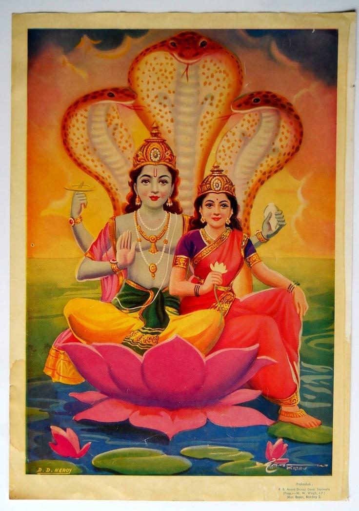 Vishnu & Laxmi